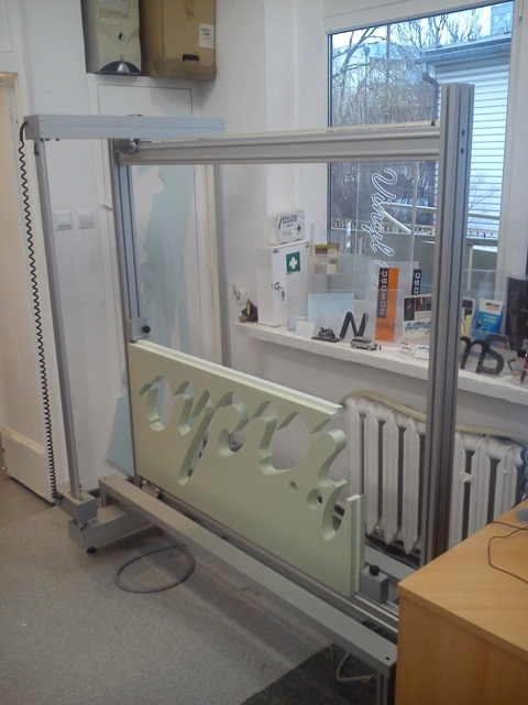 maszyna ploter termiczny